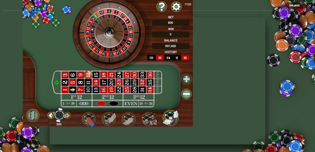Titan Roulette
